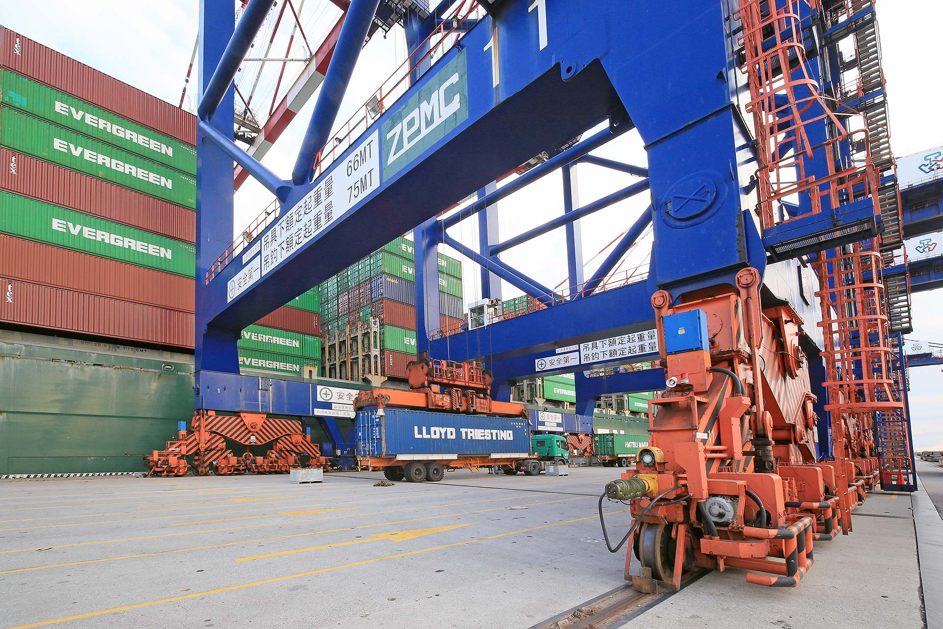 Taipei Port Container Terminal Corp 187 Shipside Services